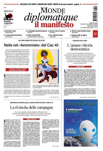 Le Monde diplomatique di dicembre 2020