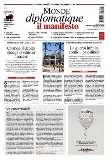 Le Monde diplomatique giugno 2021