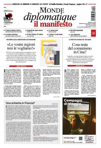 Le Monde diplomatique di luglio 2021