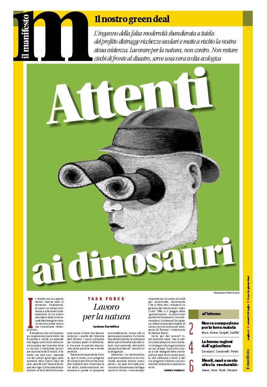 Attenti ai dinosauri