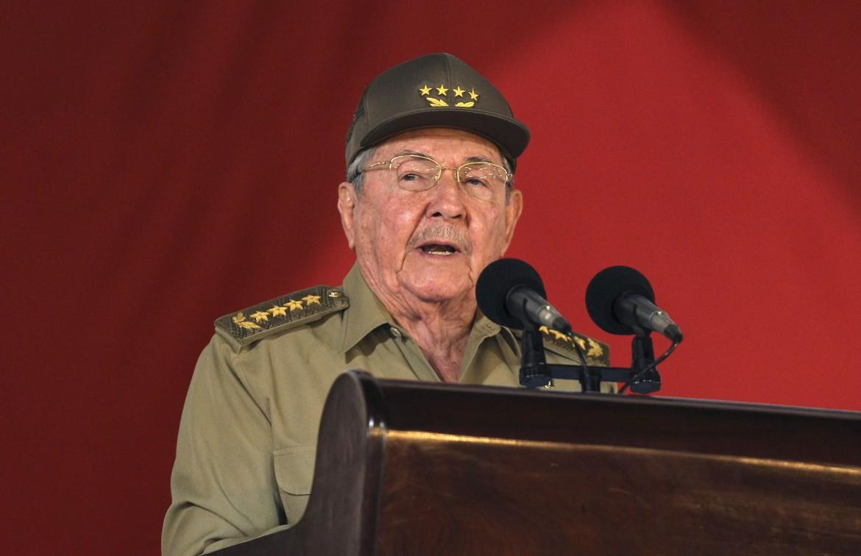 Il presidente cubano Raul Castro