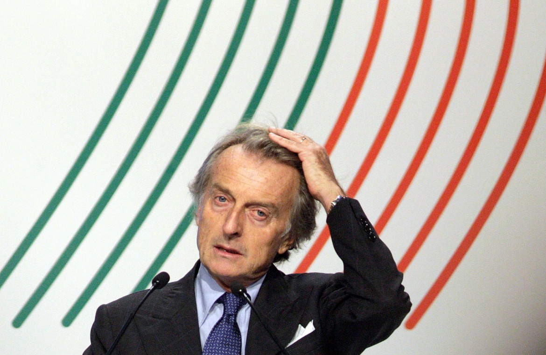 Luca Cordero di Montezemolo, numero uno della Ferrari