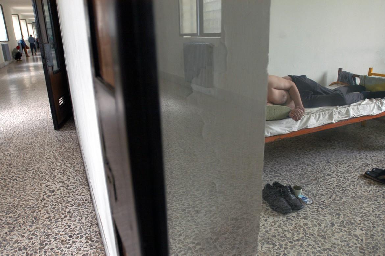 Una cella nell'Opg  di Aversa