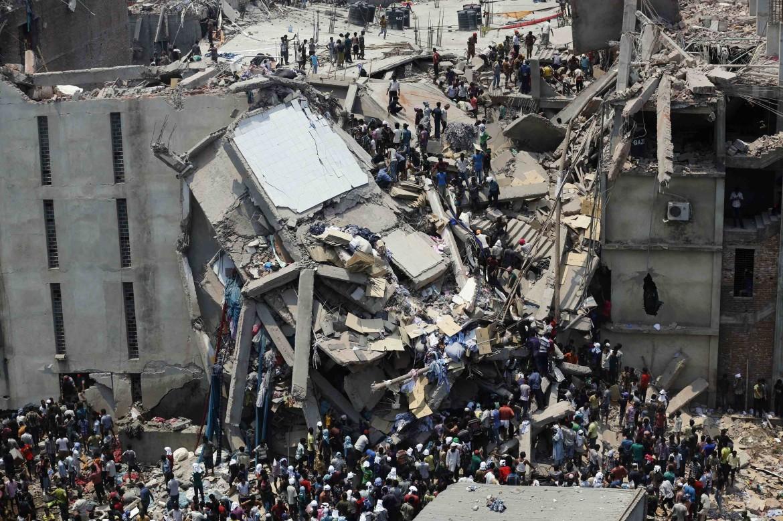 Dacca, il crollo del palazzo a Ranza Plaza
