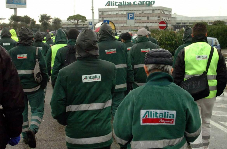 Lavoratori Alitalia a rischio