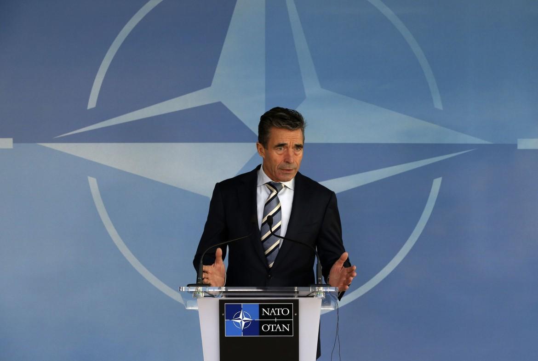 Il capo uscente della Nato Rasmussen