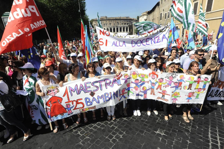 Roma, sciopero dei dipendenti comunali