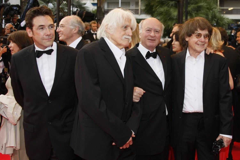 Tignous, François Cavanna, Wolinski e Cabu, morti nell'attentato, al 61MO festival di Cannes