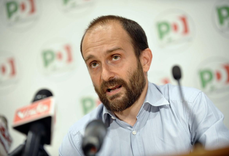 Il presidente del Pd Matteo Orfini, commissario del Pd di Roma