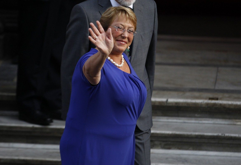 Cile, la presidente Michelle Bachelet