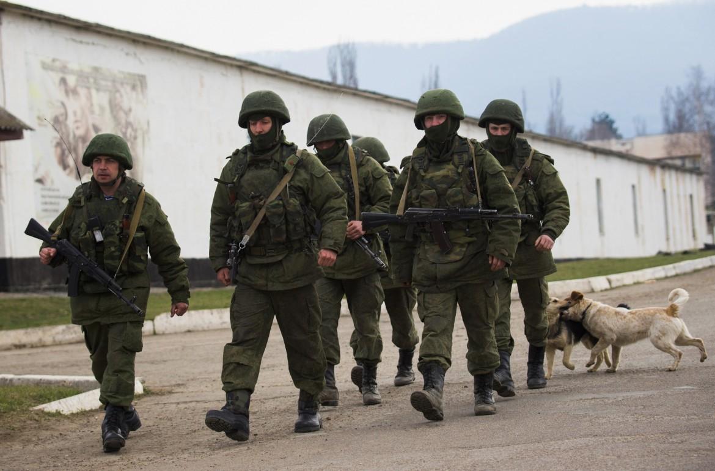 Soldati in Crimea