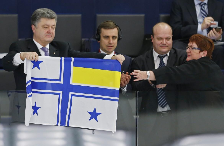 L'oligarca ucraino Poroshenko