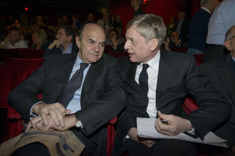 Pier Luigi Bersani e Gianni Cuperlo