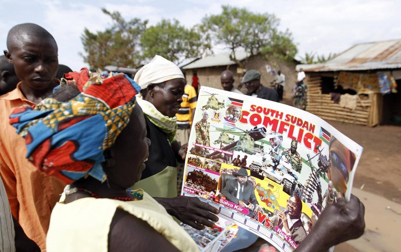 Profughi dal Sud Sudan in Uganda