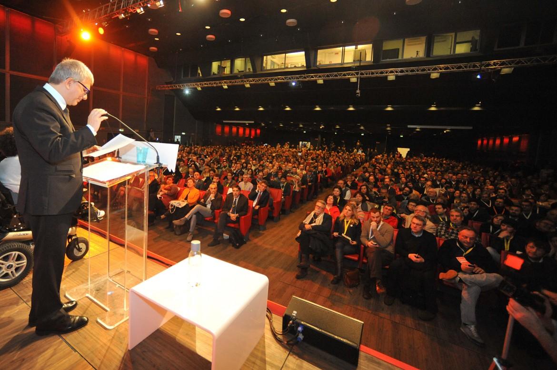 Nichi Vendola parla al congresso di Sel