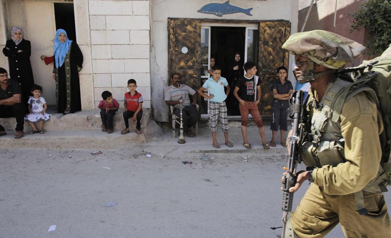 Soldati israeliani a Hebron