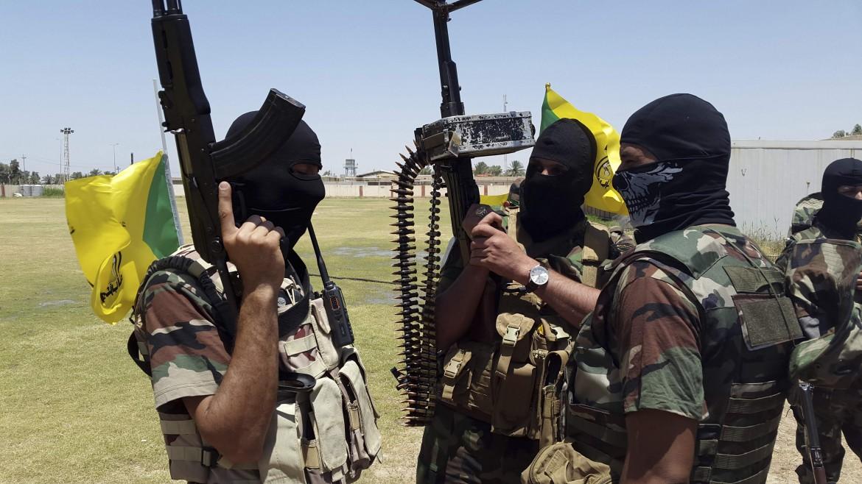 Miliziani sciiti volontari in Iraq