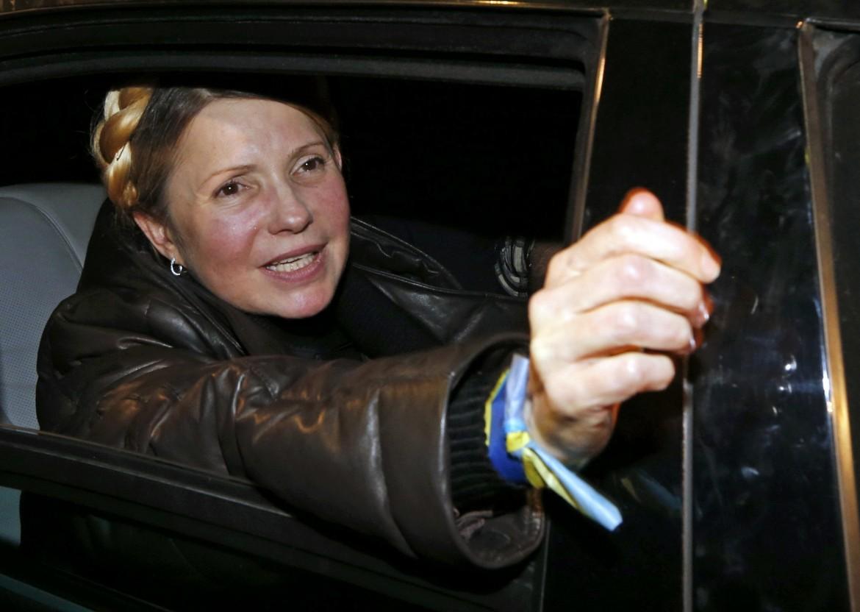 Julia Tymoshenko liberata