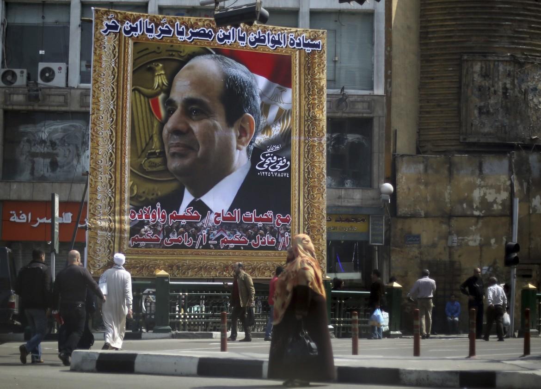 Immagine di Sisi al Cairo