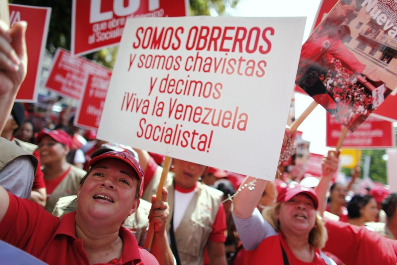 Caracas, manifestazione per il Primo maggio