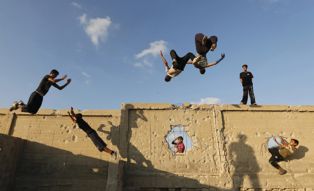 Parkour in Palestina