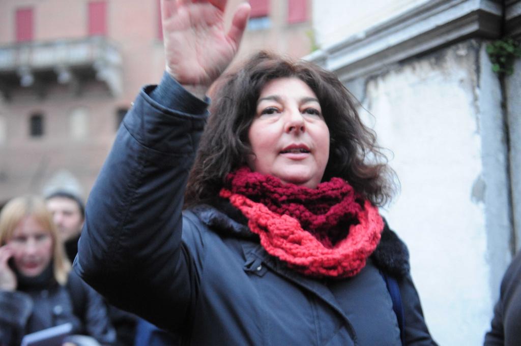 Patrizia Moretti, madre di Federico Aldrovandi