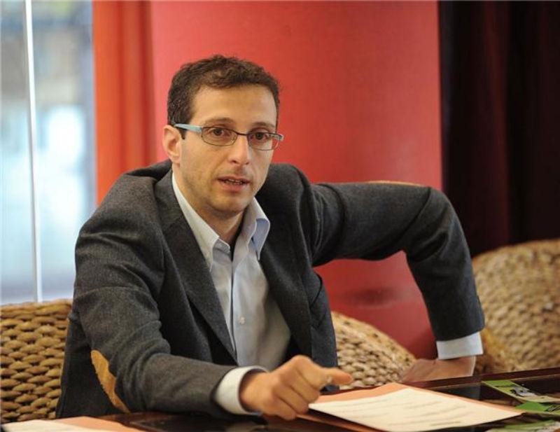 Matteo Ricci, presidente della provincia di Pesaro e Urbino, 'giovane turco' del Pd