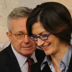 Giulio Tremonti e Maria Stella Gelmini