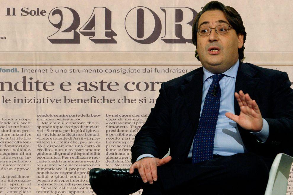 Roberto Napoletano, direttore sfiduciato del Sole