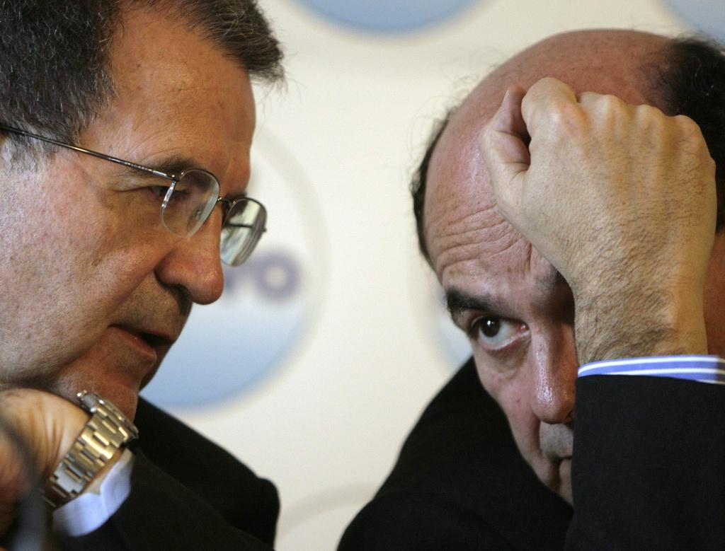 Romano Prodi e Pier Luigi Bersani