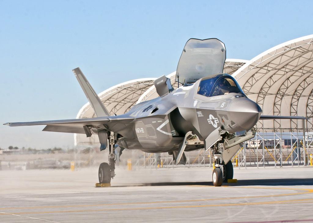 Un aereo F-35 nella base Usa di Yuma