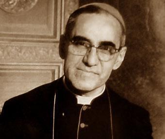Il vescovo salvadoregno Oscar Romero