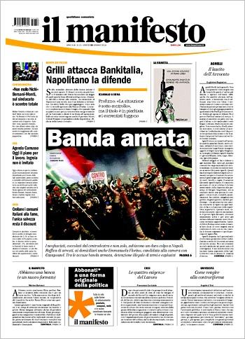 La copertina del 25 gennaio 2013 con l'annuncio dell'iPad