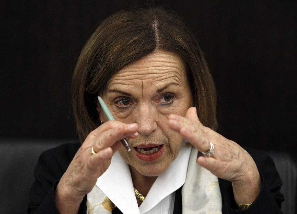 L'ex ministro e autrice della riforma delle pensioni Elsa Fornero