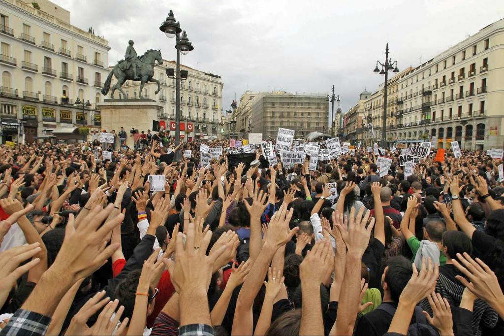 Indignados, Madrid 2013