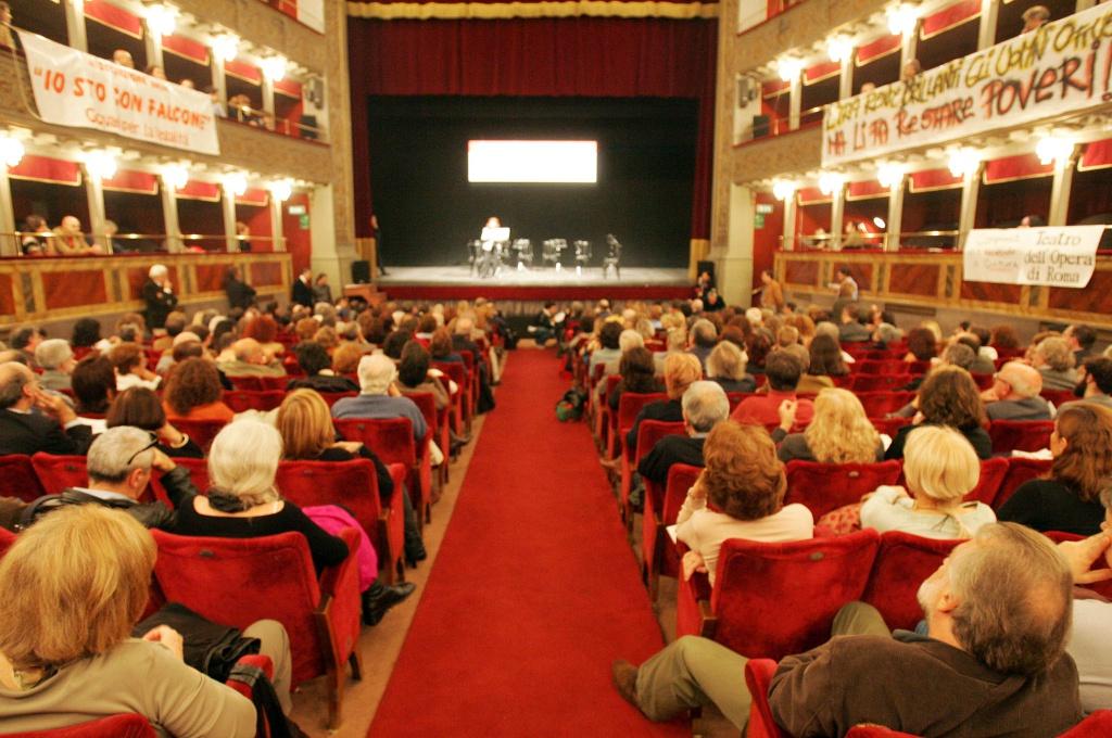 La Costituente al Teatro Valle Occupato