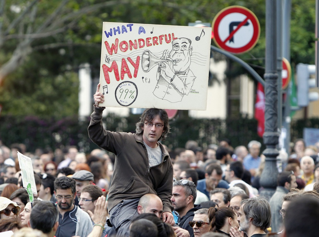 Non solo in Italia, anche in Spagna continue proteste contro gli sfratti