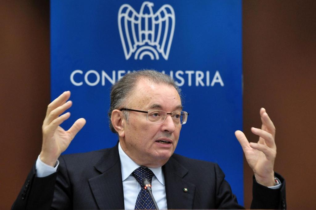 Il presidente della Confindustria, Giorgio Squinzi