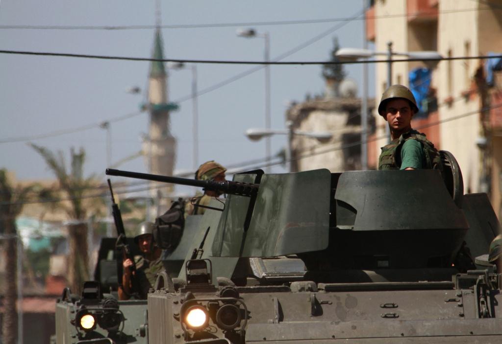 Soldati dell'esercito libanese
