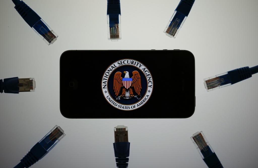 Il logo della National Security Agency