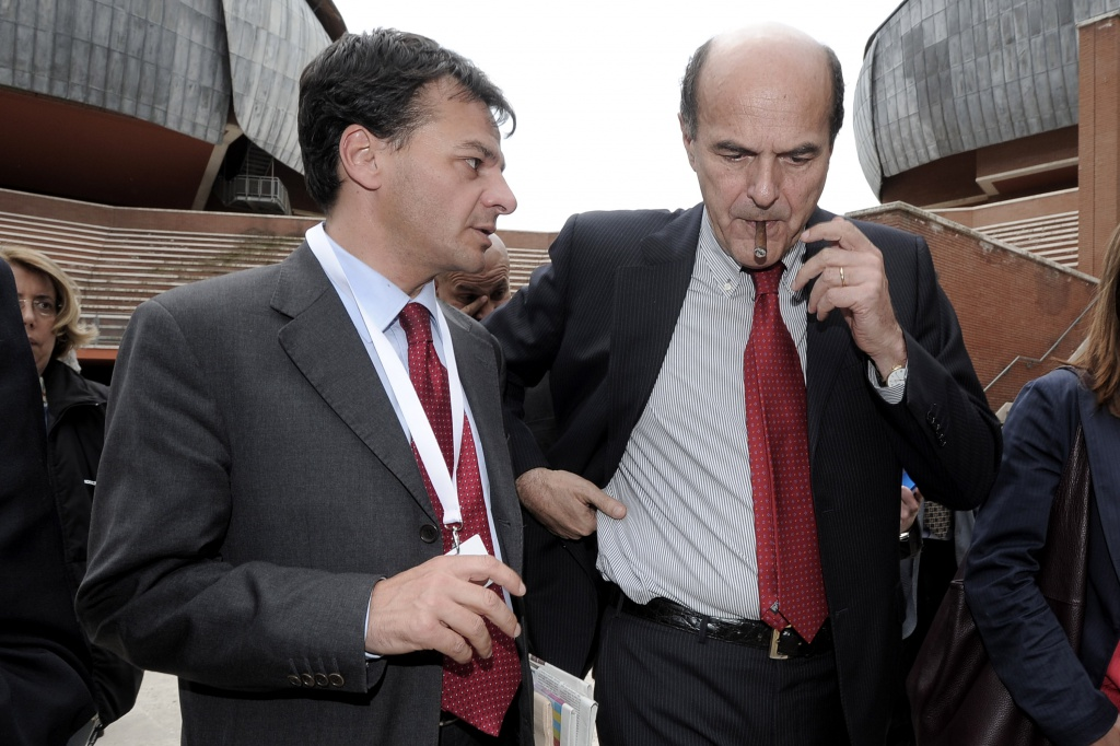 Stefano Fassina e Pierluigi Bersani