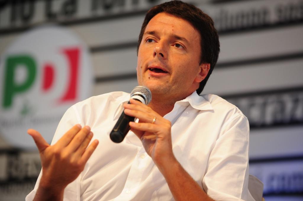 Matteo Renzi, sindaco di Firenze e candidato segretario del Pd