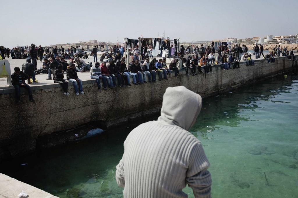 Sbarchi di inizio luglio a Lampedusa