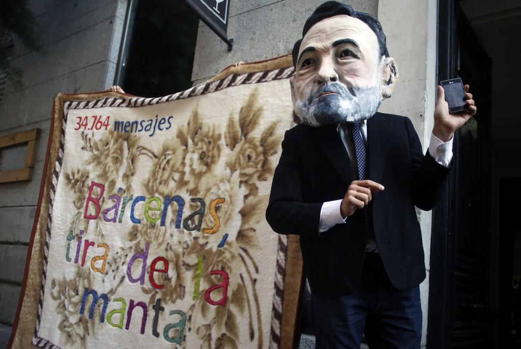 Una caricatura di Mariano Rajoy