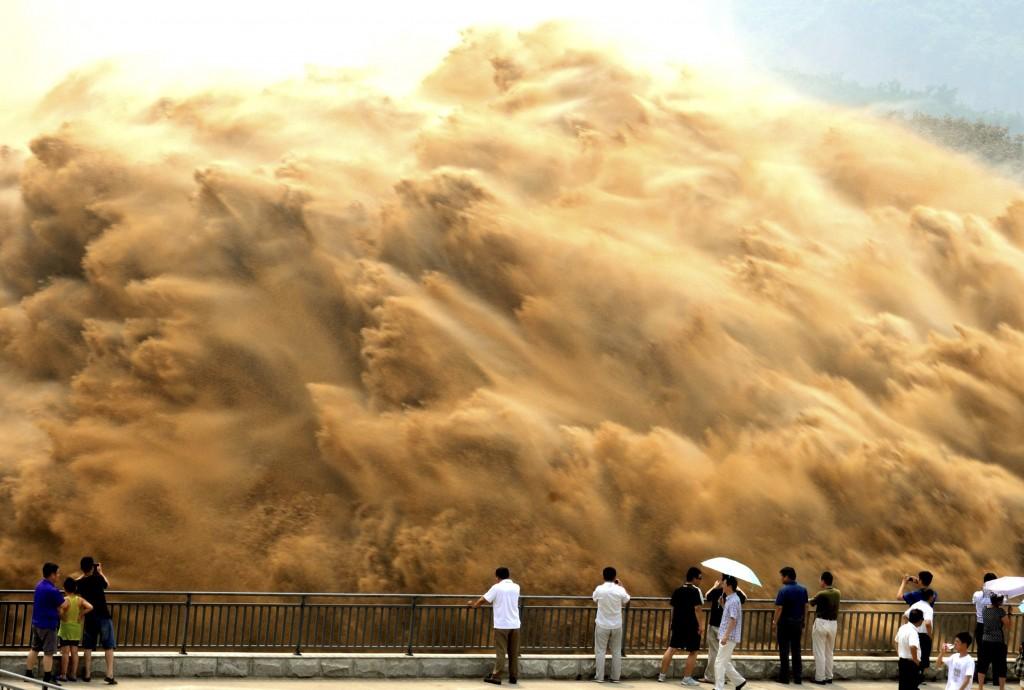 Il fiume giallo in Cina