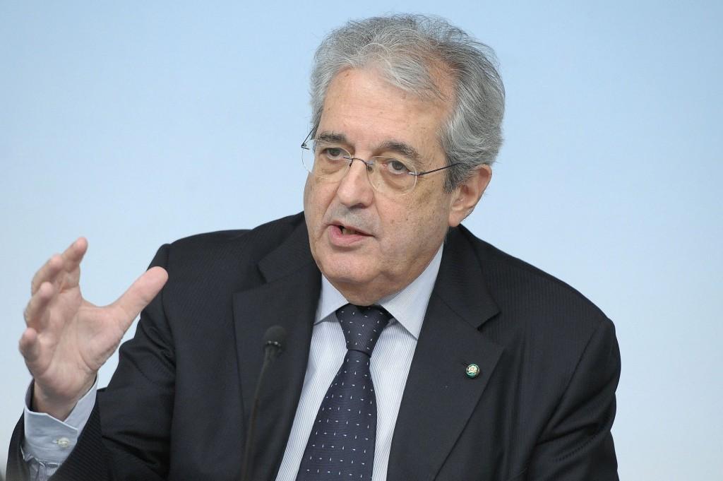Il ministro dell'Economia, Fabrizio Saccomanni