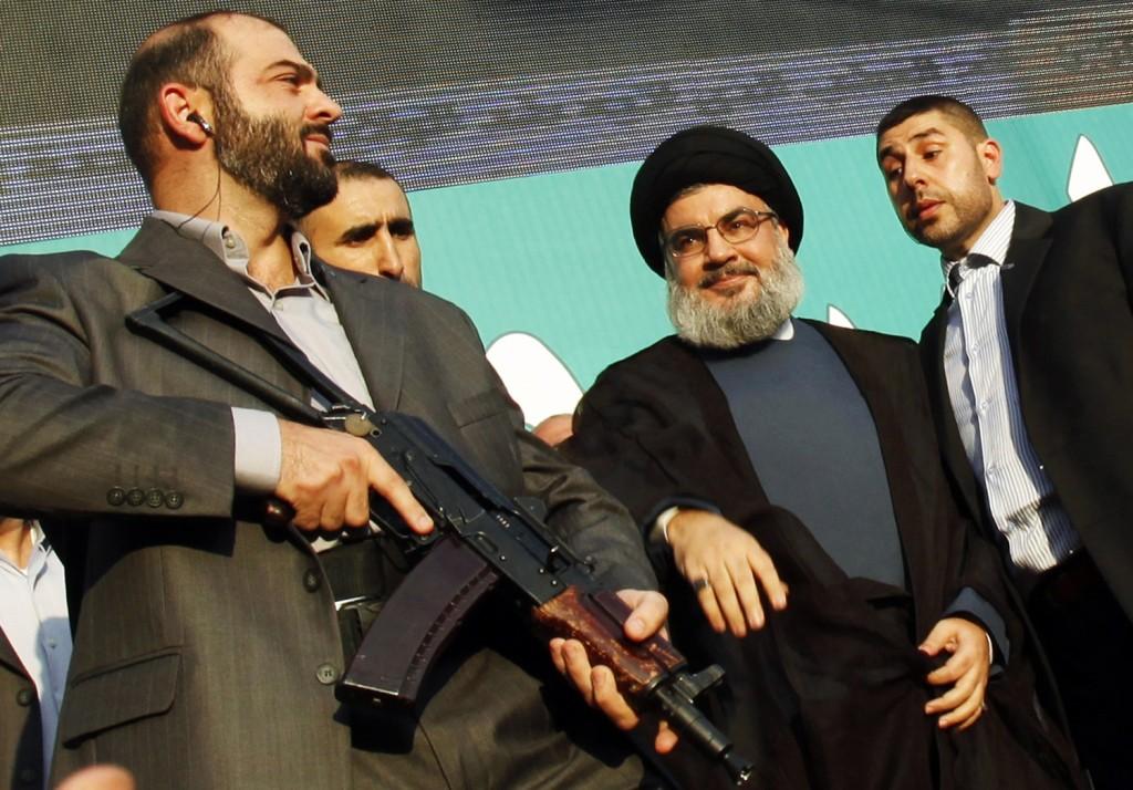 Il leader di Hezbollah, Nasrallah