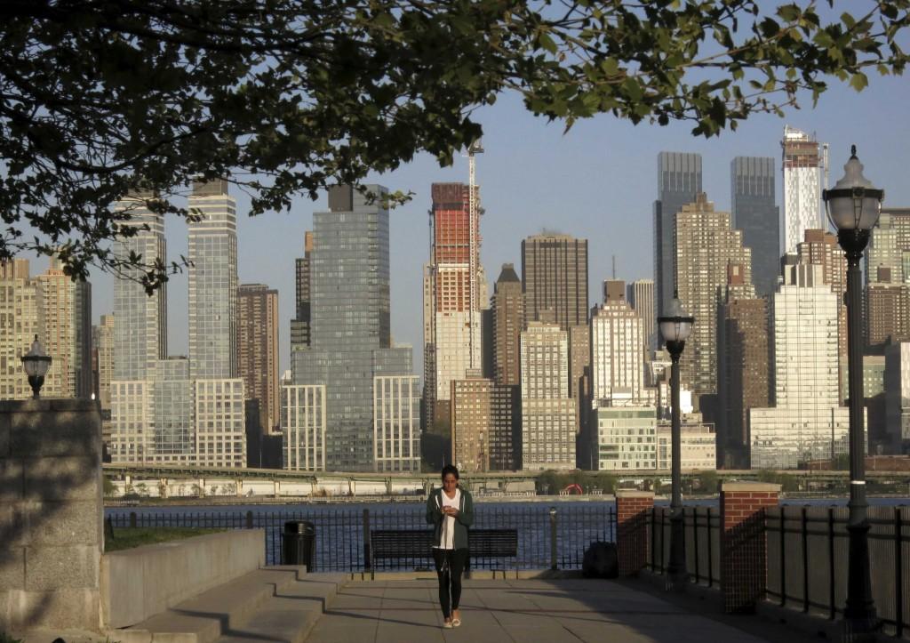Uno scorcio di Manhattan
