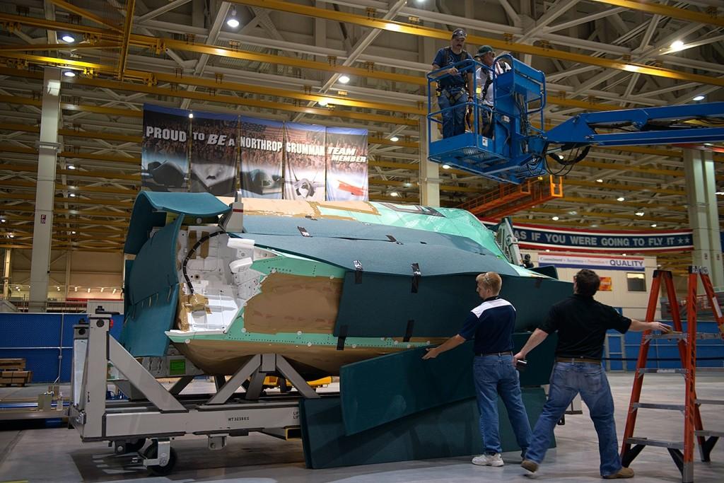 La fusoliera del primo F-35 italiano impacchettata negli Usa e pronta alla spedizione in Italia