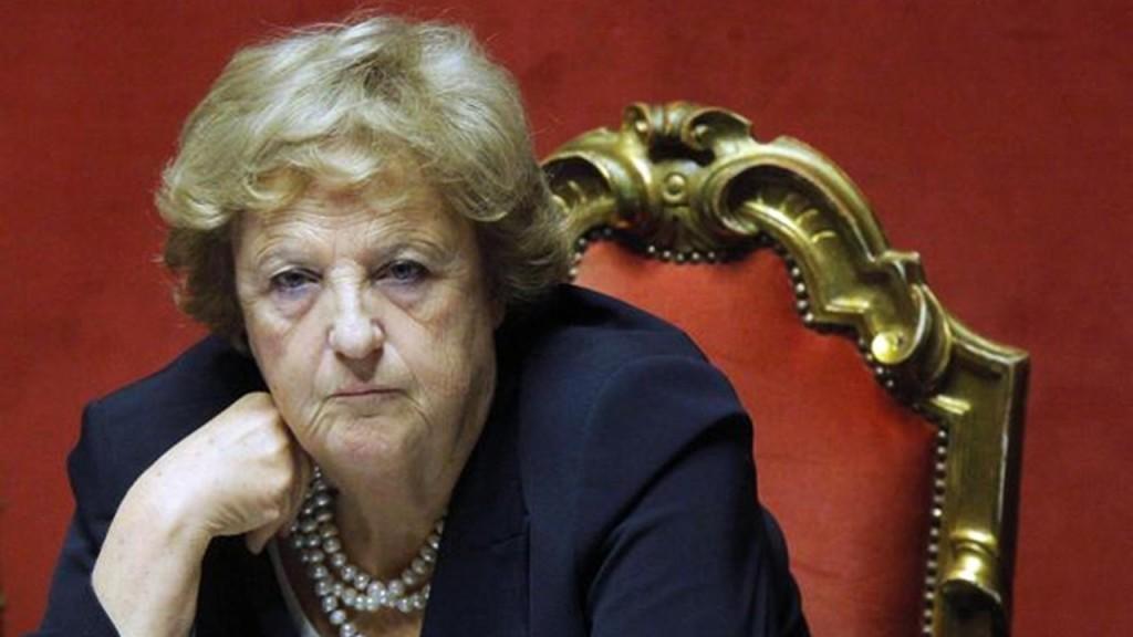 La guardasigilli Anna Maria Cancellieri